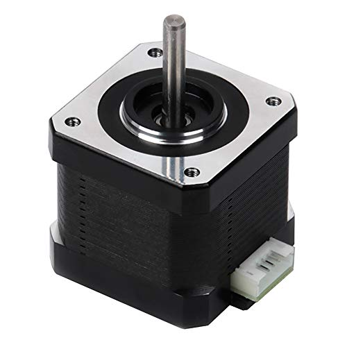 FYSETC 3D Printer Motors, Nema 17 Stepper Motor 42-34 Motor 1.8 Stepper Angle 1.5A 2 Phase Body 4-Lead with 39.3