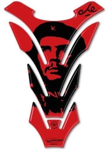 /À Ne Pas Manquer Protection Du R/éservoir Che Guevara Adh/ésifs pour R/éservoir de Moto R/ésine Rouge