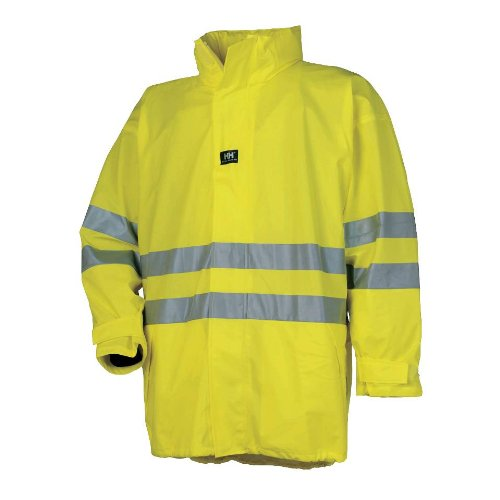 Helly Hansen - Abrigo - para hombre Amarillo Yellow EN471 large: Amazon.es: Electrónica