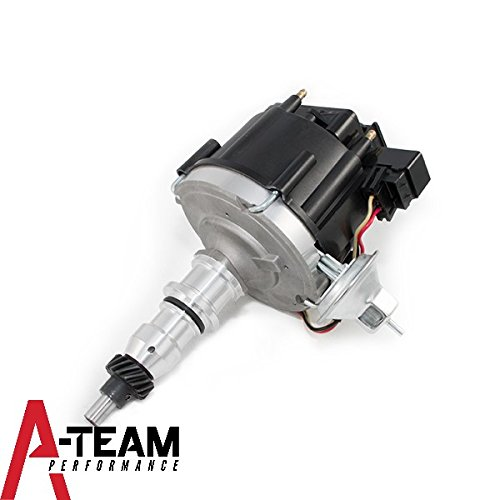 A-Team Performance 65K COIL HEI Complete Distributor Compatible With FORD STRAIGHT 6 CYLINDER 240 & 300 BACK CAP F-100 F-150 F-250 E-100 E-150 1-Wire ()