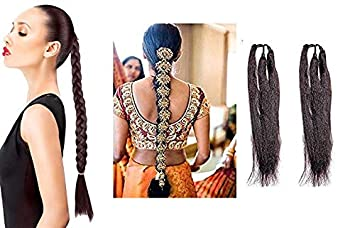 Buy Boxo Punjabi Hair Stylish Accessories Paranda For Women And Girls Dark Brown 50 Grams Pack Of 1 Online At Low Prices In India Amazon In