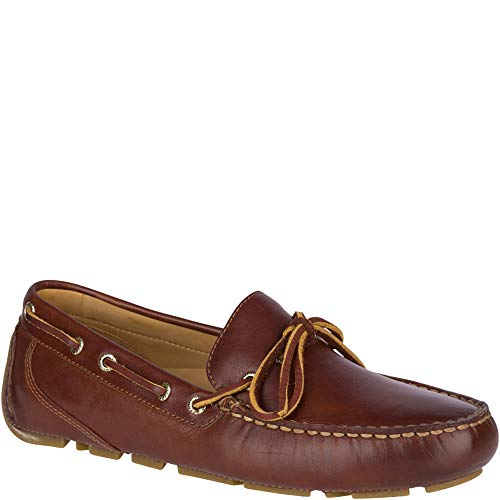(Sperry Top-Sider Gold Cup Harpswell 1-Eye Driver Men 10 Tan)