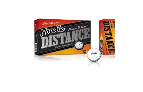 Noodle Distance Golf Ball (Pack of 12), Outdoor Stuffs