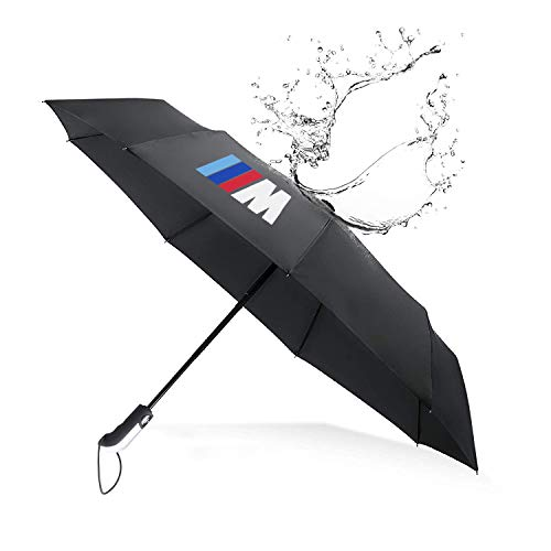 Price comparison product image S-WEKA Fully Automatic Auto Sport AUTO Open Large Folding Umbrella Windproof Sunshade for BMW