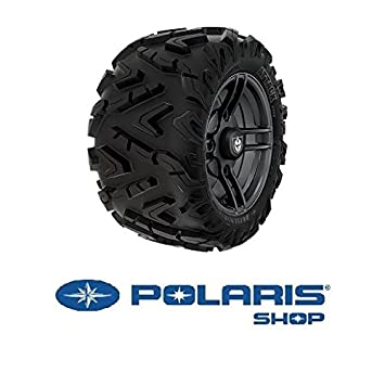 Polaris 4 NEUMATICOS Pro Armor Attack con LLANTA Split - Matte Black: Amazon.es: Coche y moto