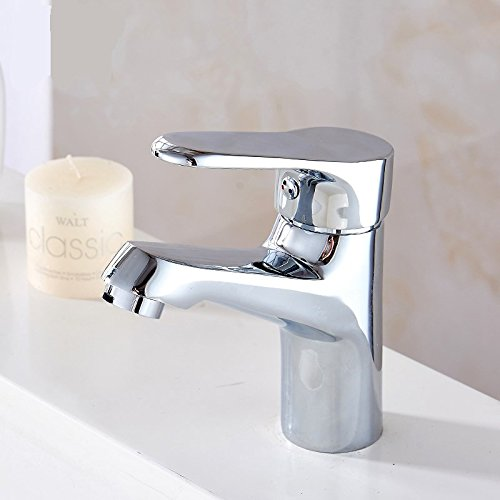 Hlluya Professional Sink Mixer Tap Kitchen Faucet The Kitchen single handle single hole Washbasin Faucet vanity full Brass chrome hot and cold water faucets