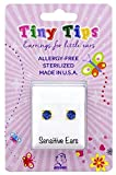 STUDEX Tiny Tips Kids Earrings | Sapphire Stud