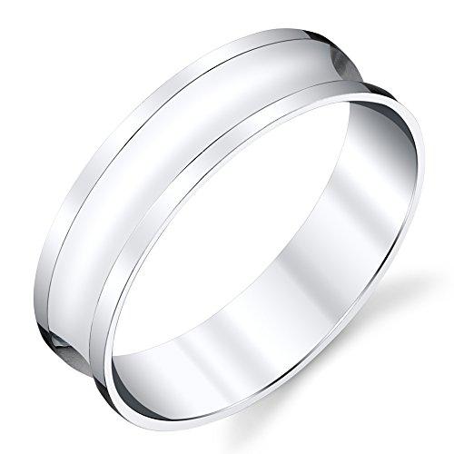 925 Sterling Silver Mens Wedding Band Ring size 8, 9, 10, 11, 12, 13 #SEVB016