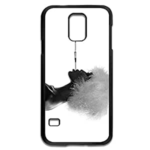 Samsung Galaxy S5 Cases Naomi Campbell Black White Design Hard Back Cover Shell Desgined By RRG2G
