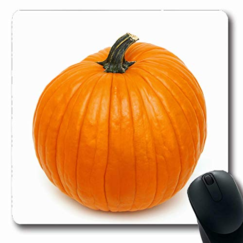 Tobesonne Mousepads Costume Corn Big Orange Pumpk White Holidays Handle Pumkin Spooky Autumn Crows Design Oblong Shape 7.9 x 9.5 Inches Non-Slip Gaming Mouse Pad Rubber Oblong Mat ()