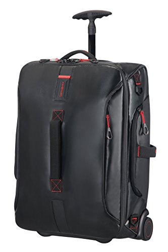 Samsonite Paradiver Light Duffle with wheels Strictcabine, 55 cm, 48,5 L, Black ()