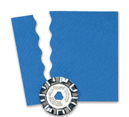(Fiskars 95337797J 45mm Rotary Wave Blade)