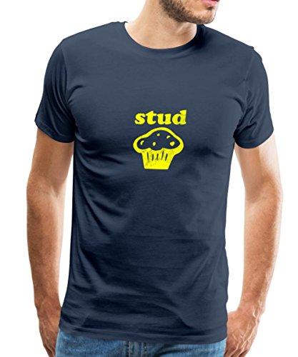 Stud Muffin Tee - Spreadshirt The Stud Muffin Men's T-Shirt, 2XL, navy