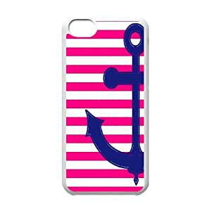 Unique Phone Case Pattern 16Retro Vintage Anchor Pattern- For Iphone 5c