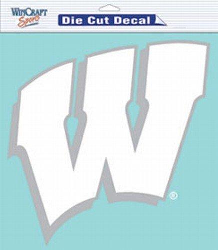 (NCAA Wisconsin Badgers Die-Cut Decal, 8