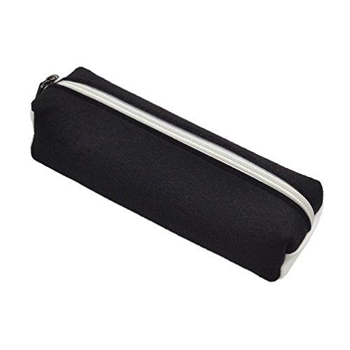 Creative Wool Felt Pencil Pen Case Stationery Pouch Cosmetic Makeup Bag 1 Pc - Wool Felt Pouch