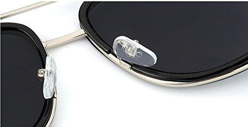femmes et Non Noir Hellomiko Carré soleil Vintage de Retro hommes lunettes lunettes polarisant pour UV400 protection mat de rrcZRWaUwq