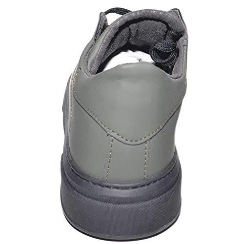 Italy Made Invernale In Bassa Cruelty Militare Handmade Gommata Verde Pelle Tessuto Fondo Sneakers Impermeabile Uomo qO7nwpO4