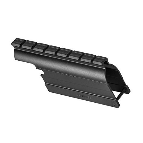 B-square Shotgun Mount - B-Square Mossberg 500 Maverick 88, 12 Gauge Shotgun Saddle Style Mount, Matte Black Finish