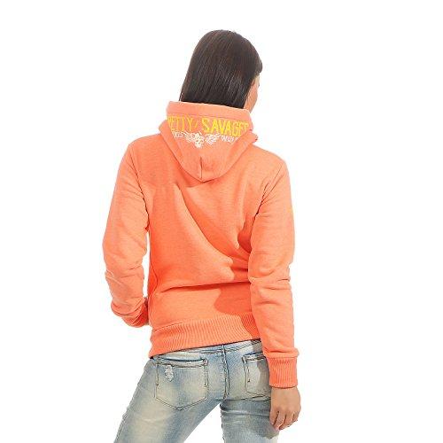 Naranja Mujer Premium Yakuza Para Sudadera qwIwxF