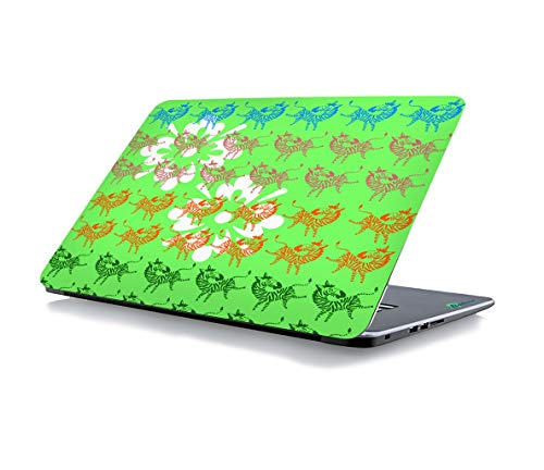RADANYA Zebras Laptop Skin Sticker Cover Fits for All Models for Screen Size Dimensions - 15 x 10 Inches