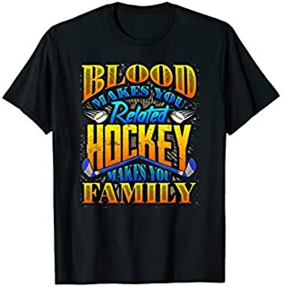 Birthday Gift Hockey Lover  Hockey Family  Hockey Fan  Long Sleeve Funny Shirt