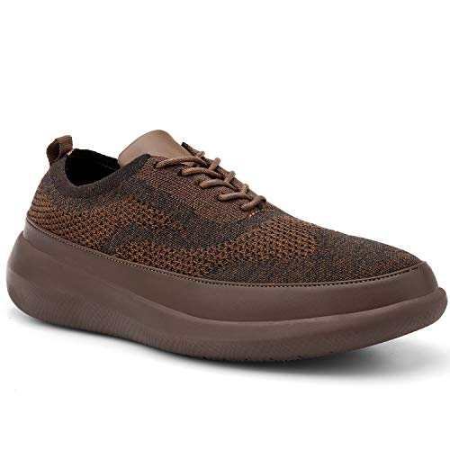 Flagama Basic Men's Mesh Wingtip Causual Oxfords Sneaker