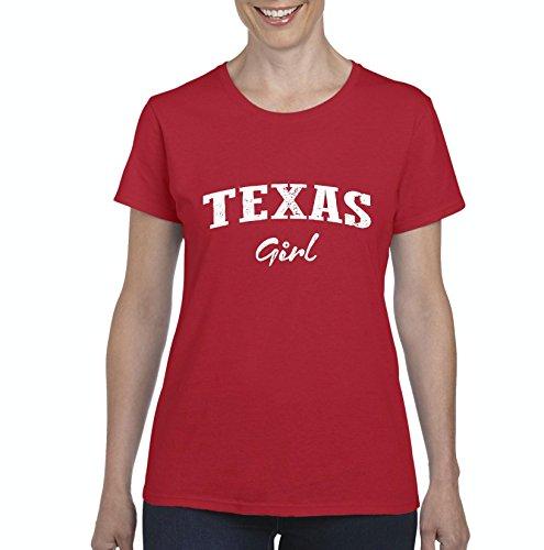 Mom's Favorite Texas Girl Texan American States TX Womens Shirts -