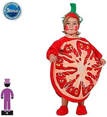 Atosa- Disfraz Tomate, Multicolor, 0 a 6 Meses (10427): Amazon.es ...