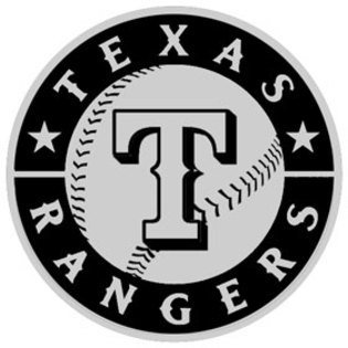 fan products of Texas Rangers Chrome Auto Emblem Decal Baseball