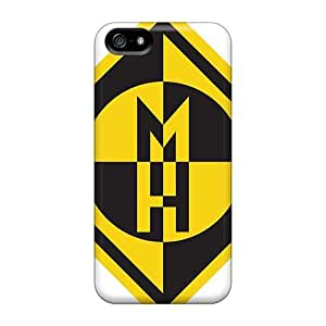 Shock Absorbent Hard Phone Case For Iphone 5/5s (kYW6827TiDM) Provide Private Custom HD Avenged Sevenfold Pattern