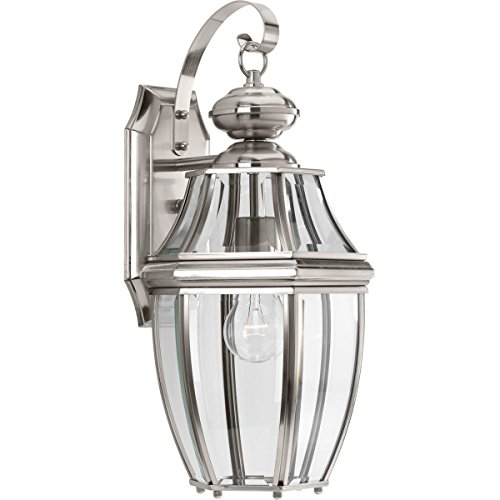 Progress Lighting P6611-09 New Haven One-Light Medium Wall Lantern, Venetian Bronze