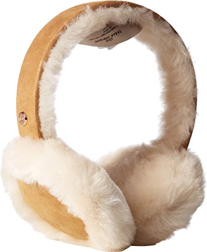 UGG Women's Water Resistant Sheepskin with Bluetooth Tech Earmuff Chestnut One Size
