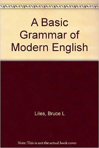 A Basic Grammar of Modern English PDF - BrowimsnowniTk