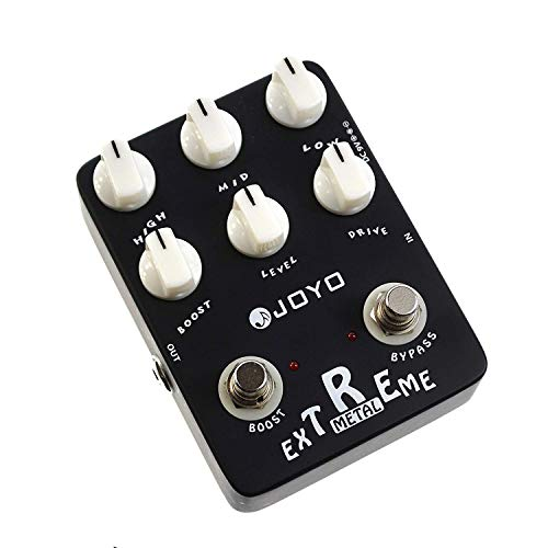 JOYO JF-17 Extreme Metal Distortion Effect Pedal High-Gain Crunch with 3-Band EQ and Gain Boost best to buy