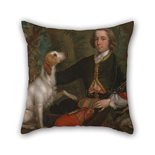 [Slimmingpiggy Pillowcase Of Oil Painting Stephen Slaughter - Windham Quin Of Adare, Co. Limerick, Ireland 16 X 16 Inches / 40 By 40 Cm,best Fit For Relatives,him,festival,wife,chair,dining Room] (Ghost Face Collectors Edition Adult Costumes)