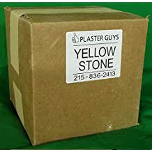 50 lb - Dental Yellow Buff Stone, Type III Lab Stone Yellow - Model Stone - Direct from Manufacturer - for Dental Office and Dental Laboratories