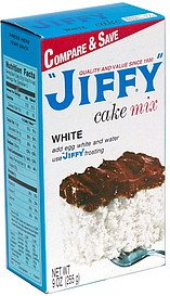Jiffy Cake Mix White 9 OZ (Pack of 24)