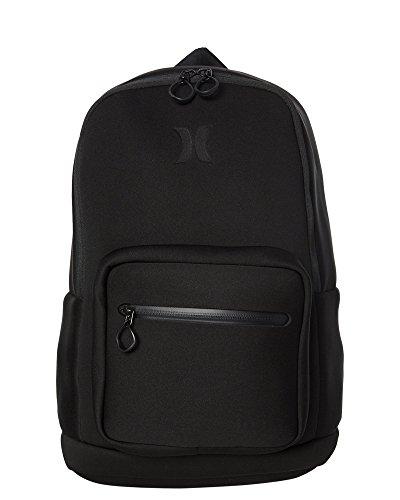 Hurley HU0008 Neoprene Backpack, Black - One (Hurley Black Backpack)