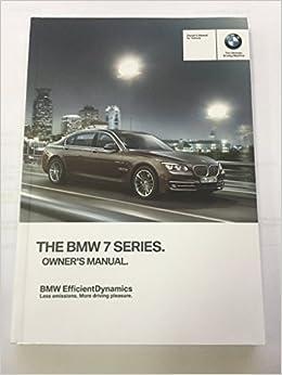 2014 Bmw 7 Series Sedan Genuine Oem Owners Manual For 740i 740li