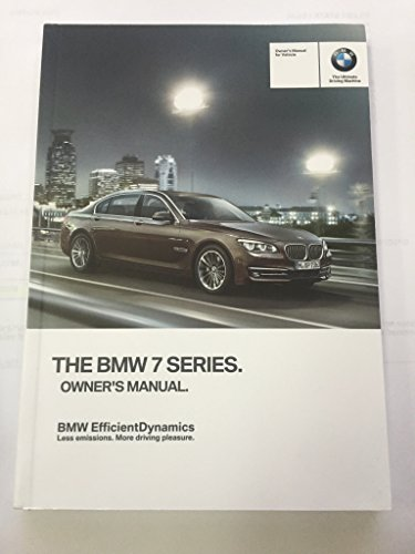 2014 BMW 7 SERIES SEDAN GENUINE OEM OWNER'S MANUAL FOR 740i 740Li 750i 760i and xDrive MODELS