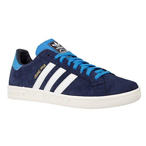 Adidas - Grand Prix - D67382 - Color: Navy blue - Size: (Grand Prix Shoes)