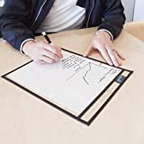 """Dry Erase Pockets Reusable Sleeves by Office Orchid - Heavy Duty Oversized 10"""" x 14"""" - 30 Pockets Assorted Colors + 30 Pens + 500 Worksheets - School or Work - Sheet Protectors or Ticket Holders"""