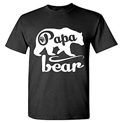 Fresh Tees - Papa Bear T-shirts Father's Day Shirt papa tshirt father day gift