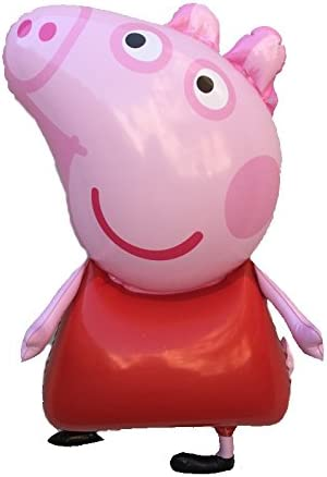 Amazon Co Jp Peppa Pig Personnage Gonflable 55 Cm Jouet Rose Nf Toys