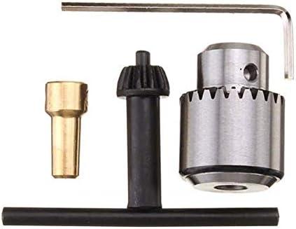ZKS-KS ドリル、0.3〜4ミリメートルマイクロモーターチャック・クランプでキーと1/8インチのシャフトコンロッドをドリル