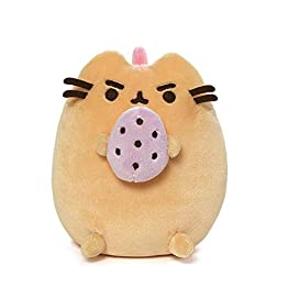 Pusheen Dinosaur Plush | Pusheenosaurus With Egg - Yellow -  6 Inch | Pusheen Plushies 10