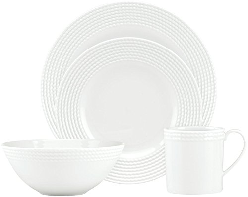 (kate spade new york Wickford 4 Piece Dinnerware Place Setting)
