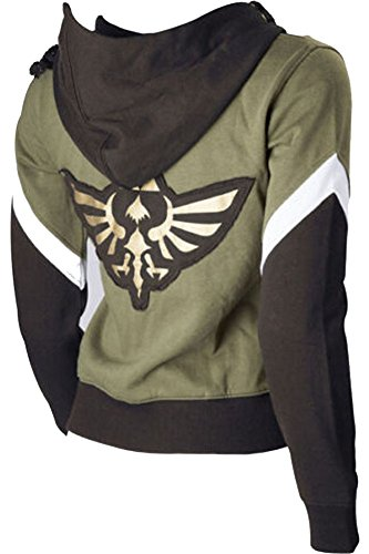 CosplaySky The Legend Of Zelda Hoodie Jacket Link Sweatshirt Costume XX-Large