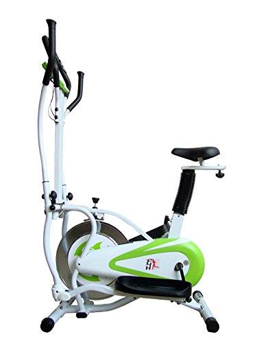 Olympic 11 Cross Trainer Bike - Green/White